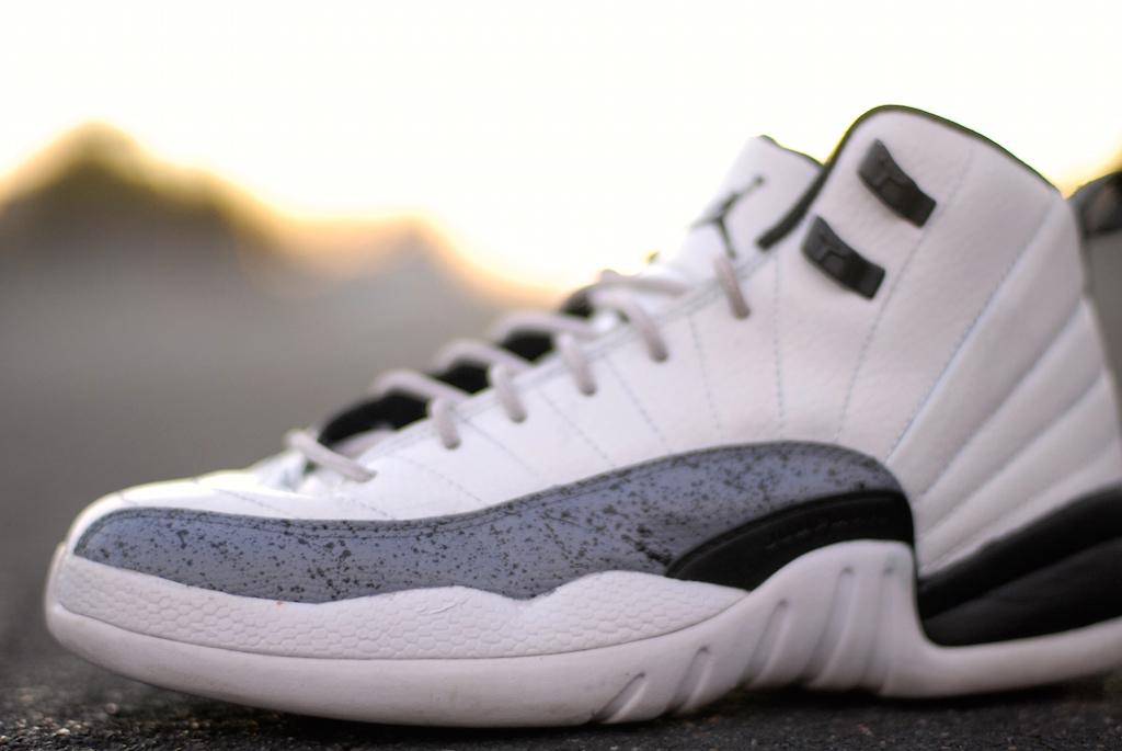 White Cement Air Jordan 12 – HaveAir
